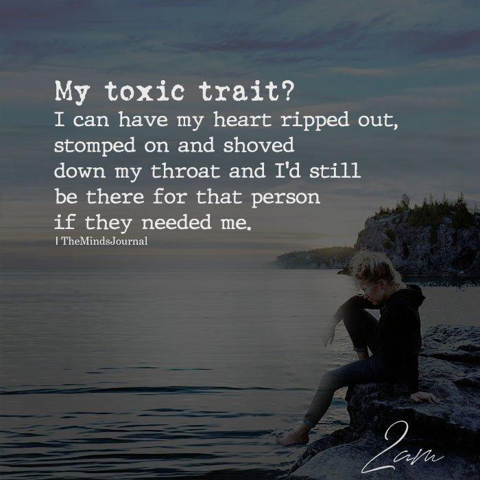 My Toxic Trait