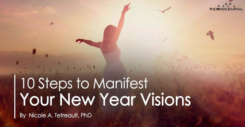10 Steps to Manifest Your New Year Visions