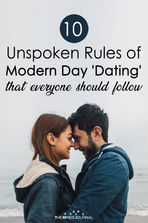 10 Unspoken Rules of Modern Day Dating that everyone should follow