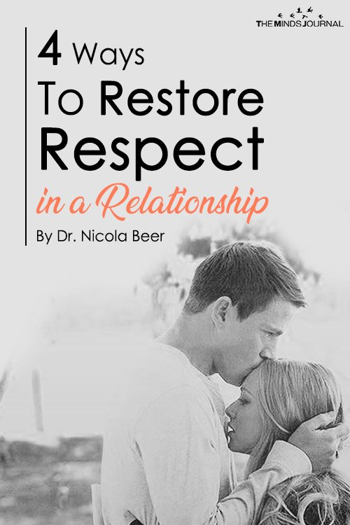 4 Ways To Restore Respect in a Relationship