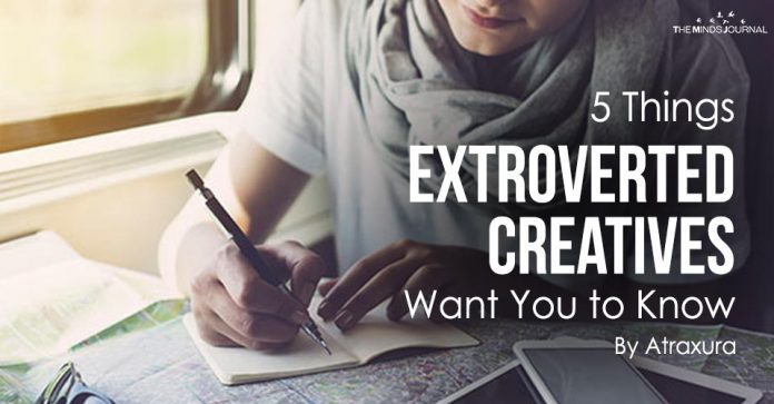 5 Things Extroverted Creatives Want You to Know