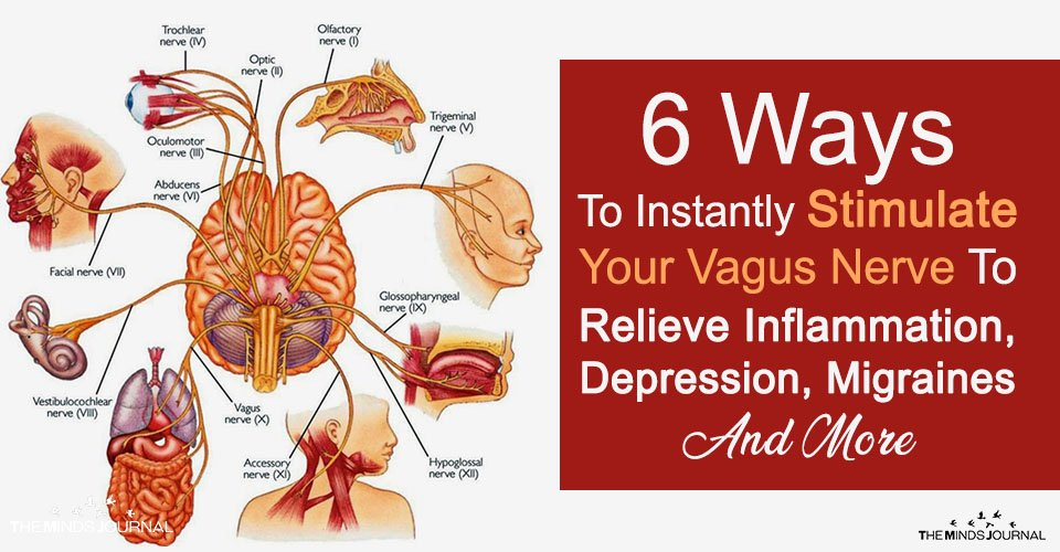 6 Ways To Instantly Stimulate Your Vagus Nerve To Relieve