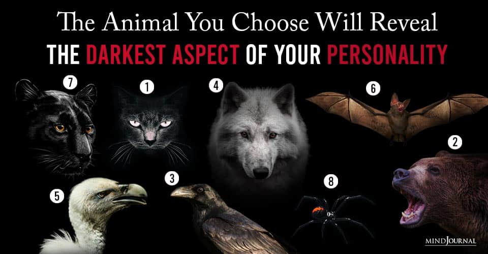 Animal You Choose Will Reveal Darkest Aspect Your Personality