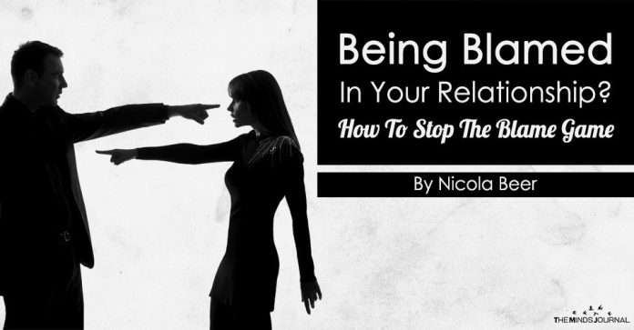 Being Blamed In Your Relationship How To Stop The Blame Game