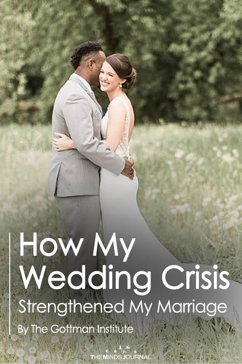 wedding crisis pin