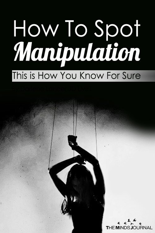 How To Spot Manipulation