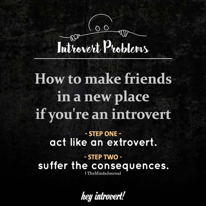 How To Make Friends In A New Place