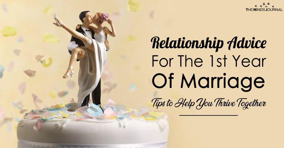 Relationship Advice For First Year Of Marriage