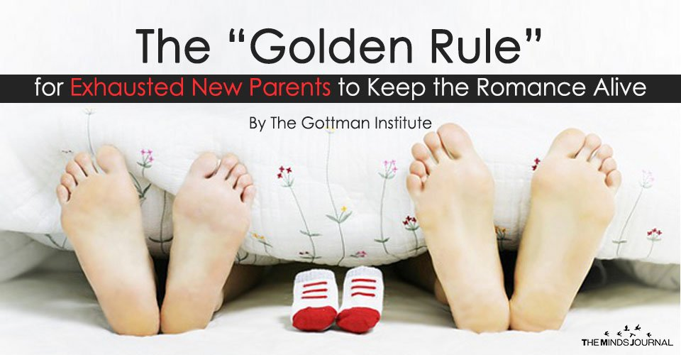 "The ""Golden Rule"" for Exhausted New Parents to Keep the Romance Alive"