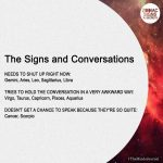 The Signs and Conversations