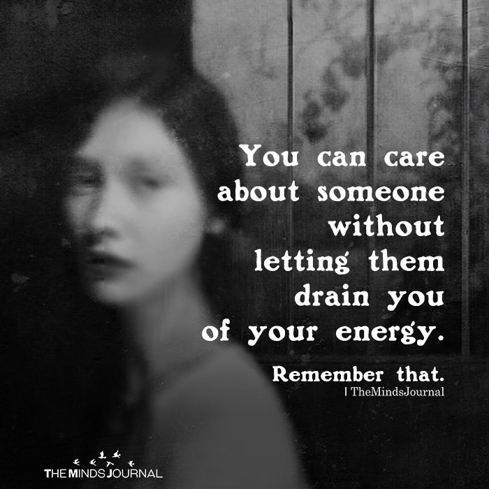 You Can Care About Someone Without Letting Them Drain You