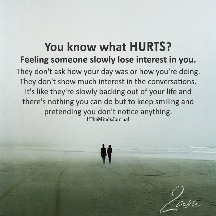 You Know What Hurts