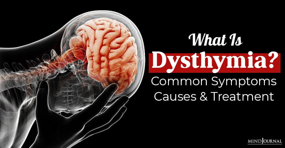 what is dysthymia