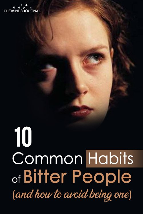 habits of bitter people