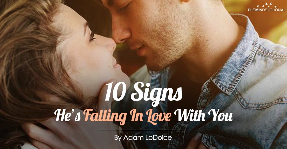 signs he is falling in love