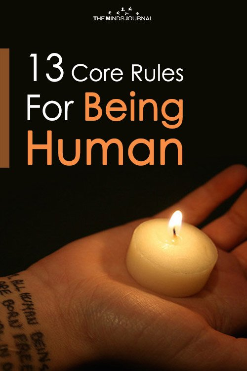 13 Core Rules For Being Human