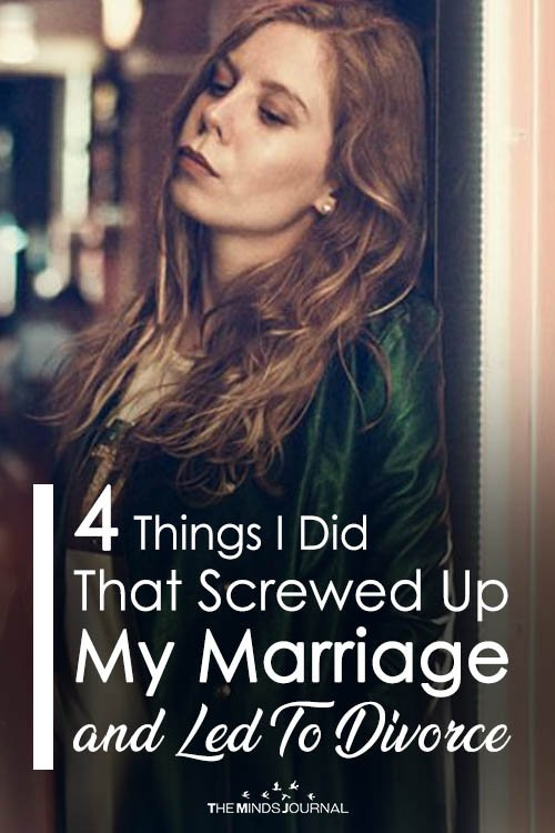 4 Big Mistakes I Made As A Wife That Led To Divorce