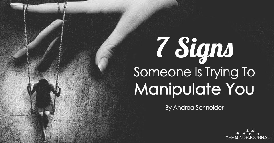 how to manipulate someone