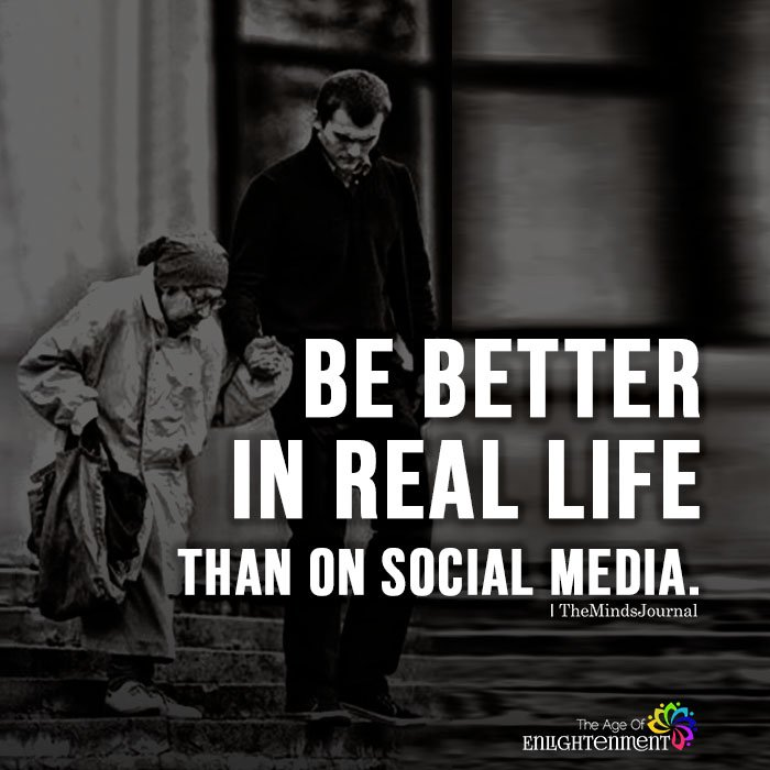 Be Better In Real Life