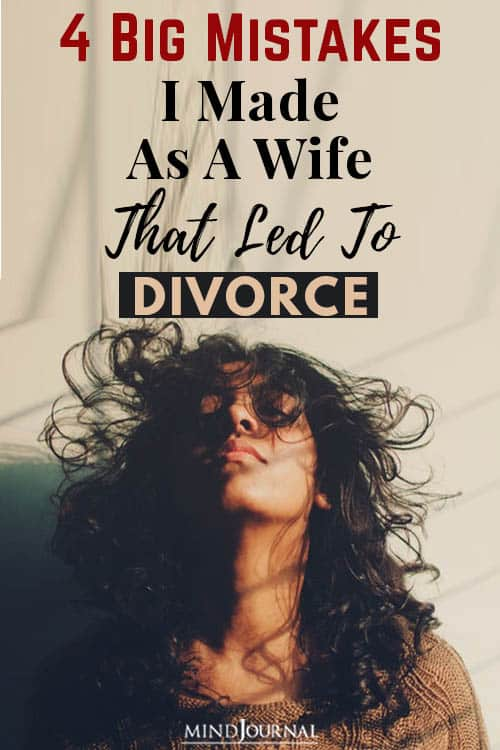 Big Mistakes Made Wife Led Divorce pin