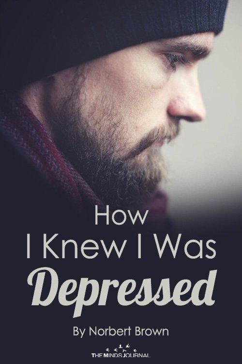 How I Knew I Was Depressed