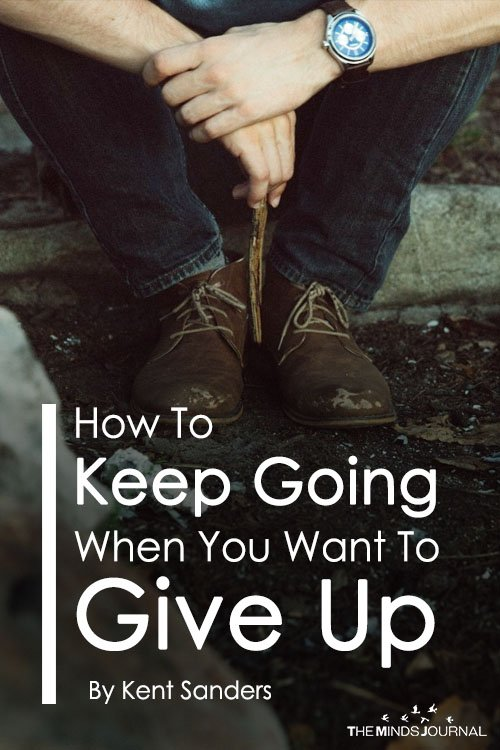 How To Keep Going When You Want To Give Up (2)