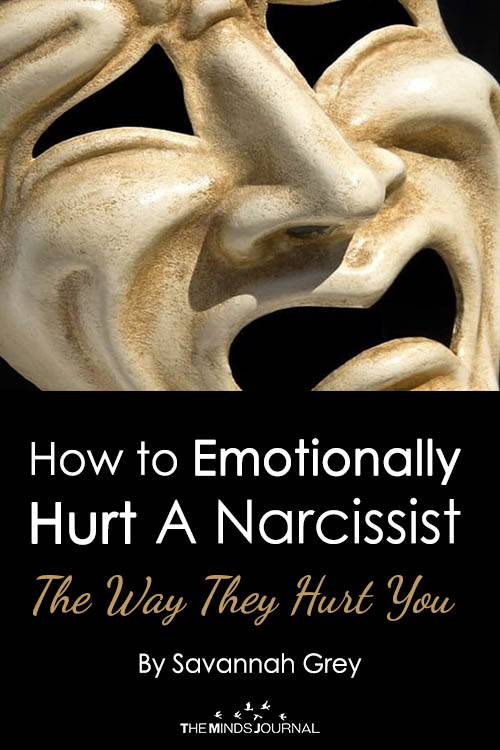 How to Emotionally Hurt A Narcissist, The Way They Hurt You