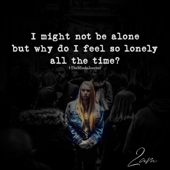I might not be alone
