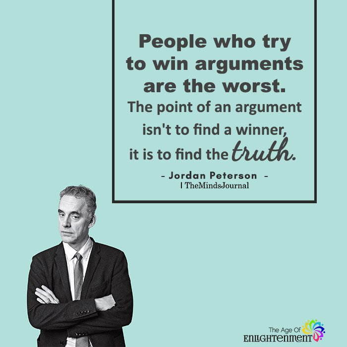 People Who Try To Win Arguments Are The Worst