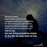 We Are All Sitting A Top Limitless Reservoirs Of Untapped 'superhuman' Capabilities