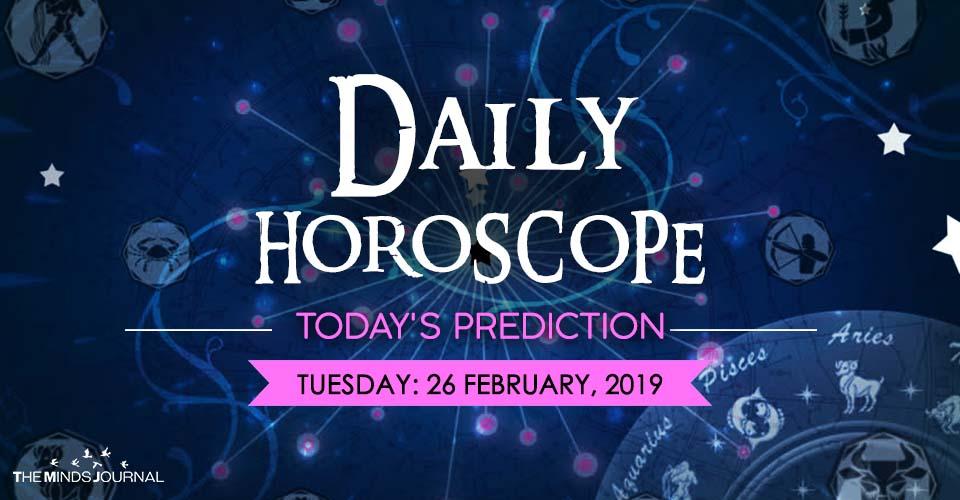 Aries Daily Horoscope - Tuesday, 26th February, 12222
