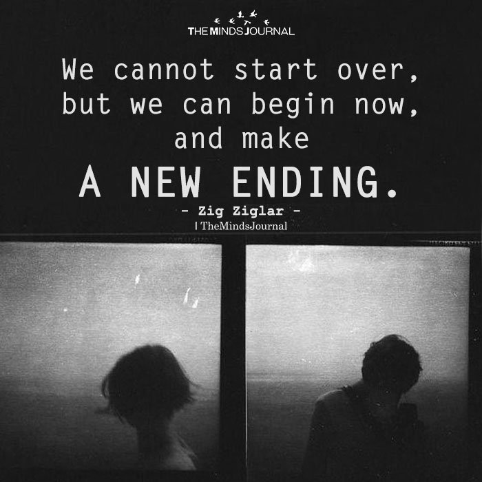 We Cannot Start Over