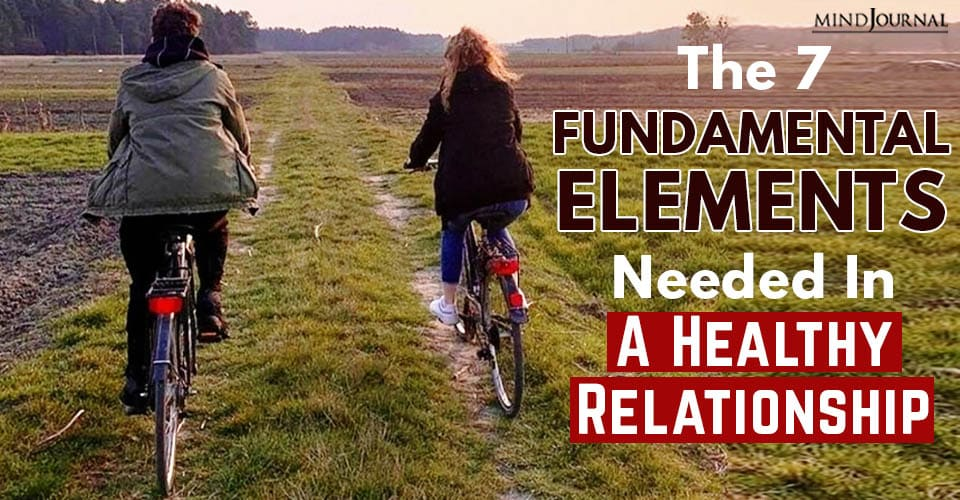 fundemental elements in healthy relationship