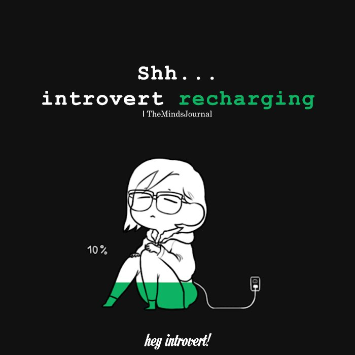 Introvert Recharging