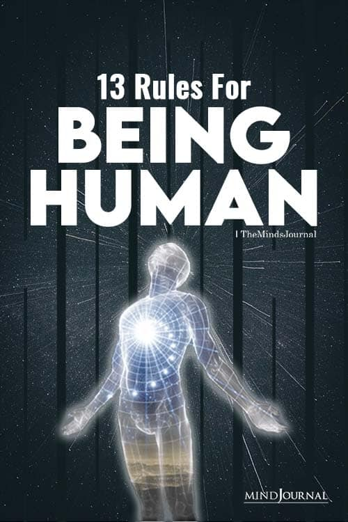 rules for being human pin