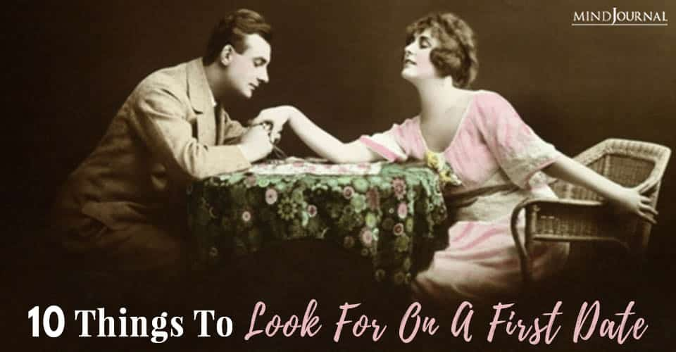 things look for first date