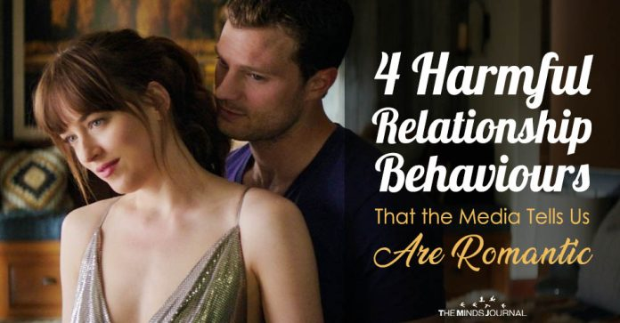 4 Harmful Relationship Behaviours That the Media Tells Us Are Romantic