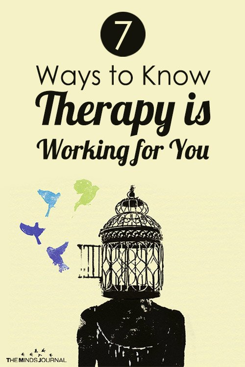 7 Ways to Know Therapy is Working for You