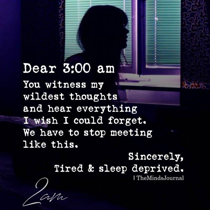 Dear 300 am
