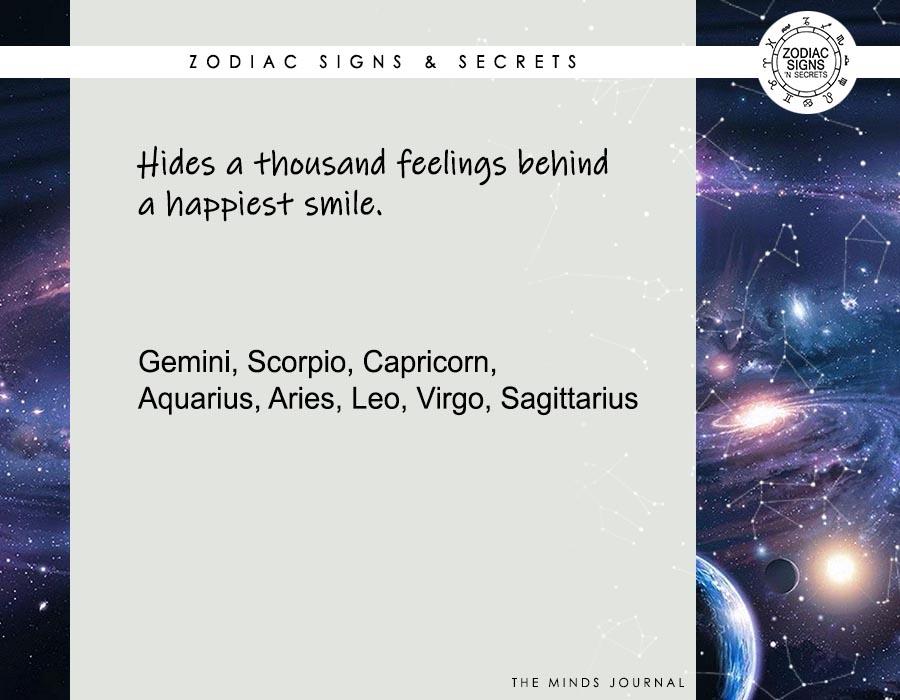 Hide a Thousand Feelings