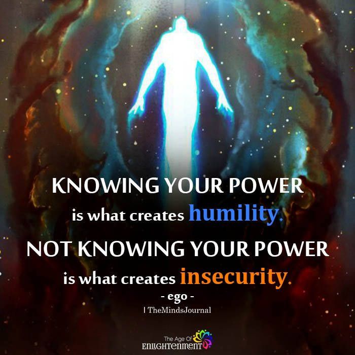 Knowing your power