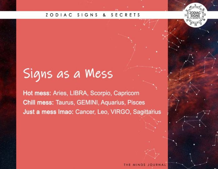 Signs As A Mess