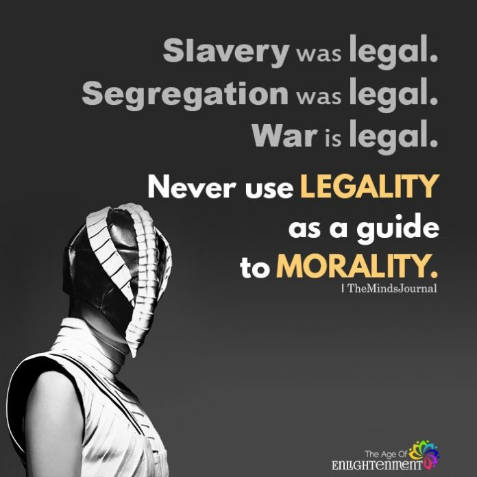 Slavery was legal