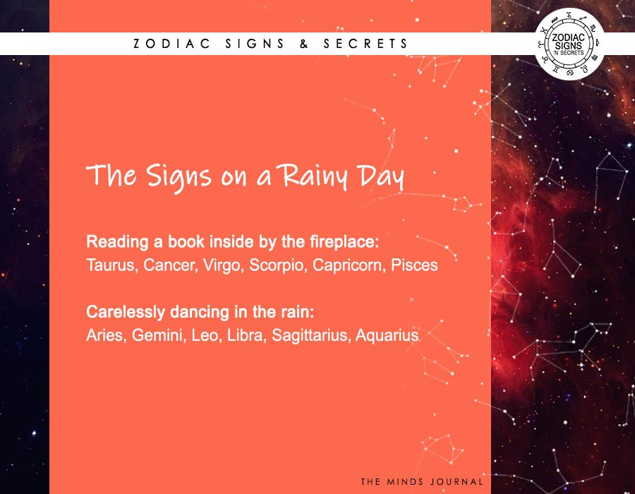 The Signs On A Rainy Day