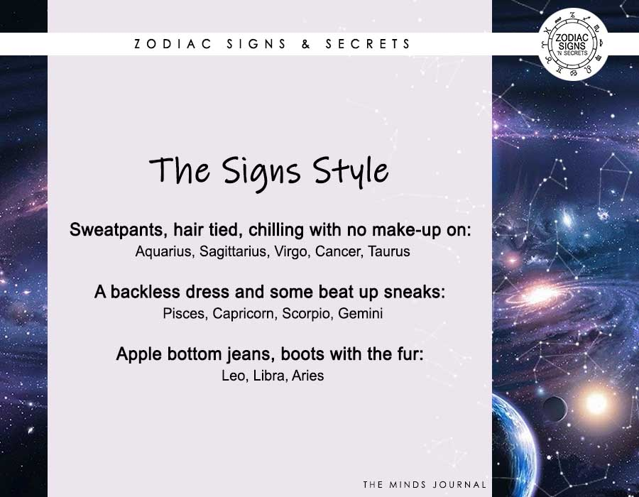The Signs' Style