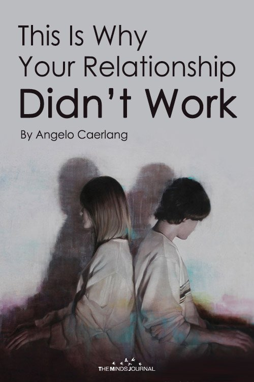 Why Your Relationship Didn't Work