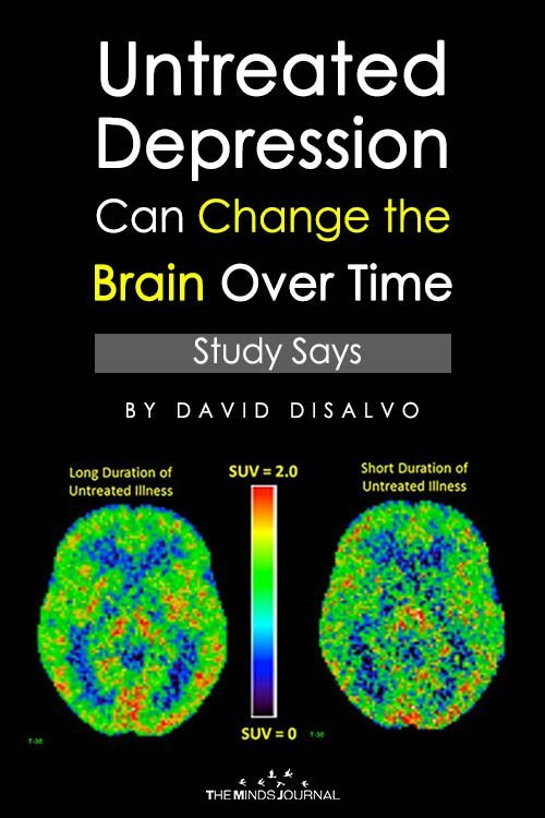 Untreated Depression Can Change the Brain Over Time