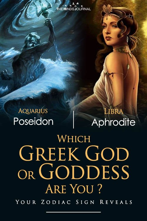 Which Greek God Or Goddess Are You Your Zodiac Sign Reveals