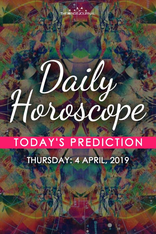 Your Daily Predictions for Thursday, April 4, 2019 pinterest