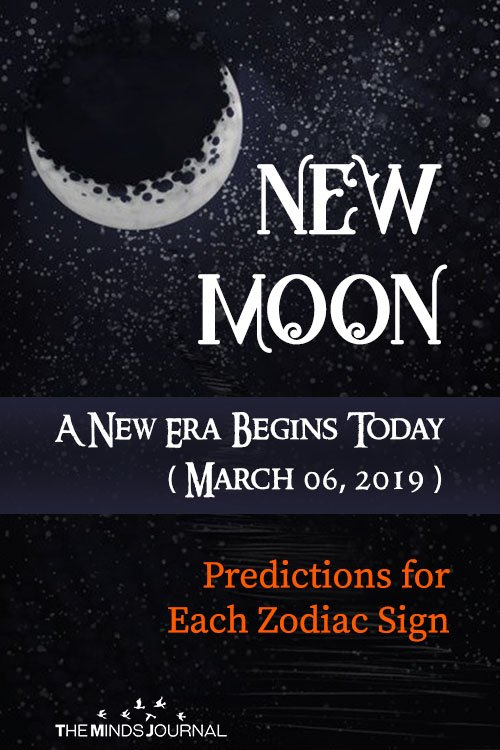 New Moon Predictions – 6 March 2019